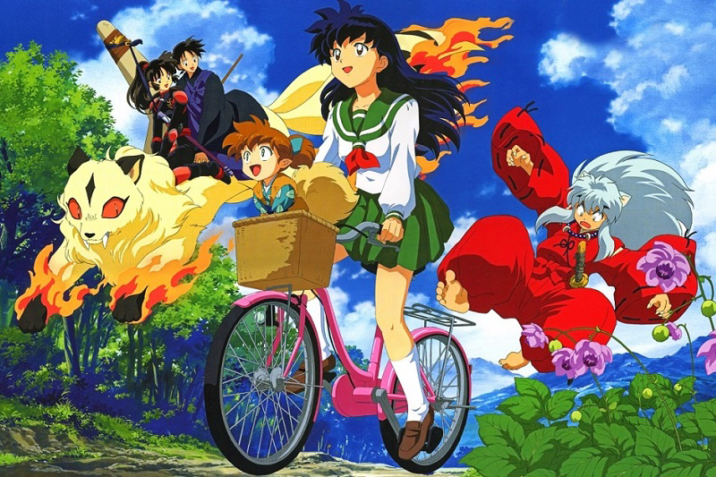 Characters in the Inuyasha Anime Series